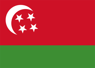 Comoros flag 1975
