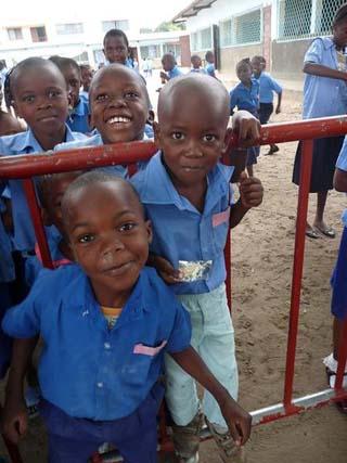 Congo school children