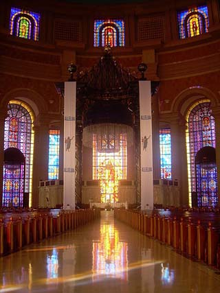 Our Lady of Peace interior