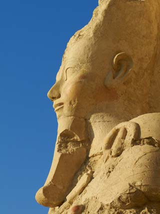 Temple of Hatshepsut, Deir El Bahari, Thebes, UNESCO World Heritage Site, Egypt, North Africa, Afri