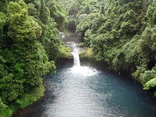 Bioko Island waterfall