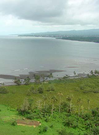 Malabo coastline