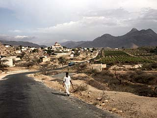 Landscape Near the Town of Agordat in Western Eritrea, Africa