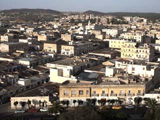 Overlooking the Capital City of Asmara, Eritrea, Africa