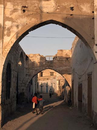 Coastal Town of Massawa on the Red Sea, Eritrea, Africa