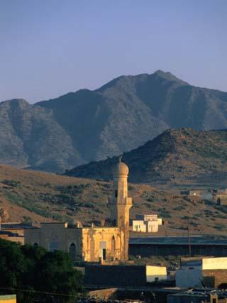 Mosque of Nakfa Exterior, Nakfa, Eritrea