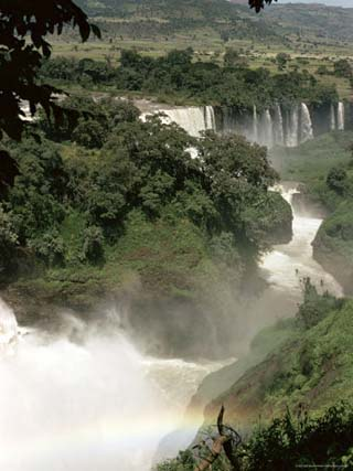 Tis Isat Falls on the Blue Nile, Ethiopia, Africa