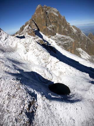 Slopes of Mount Kenya