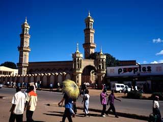 Busy Street in a City, Lilongwe, Malawi