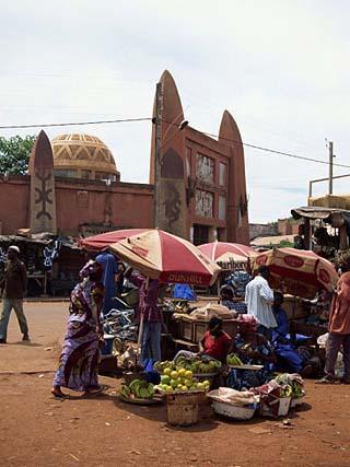 Street Scene, Bamako, Mali, West Africa, Africa