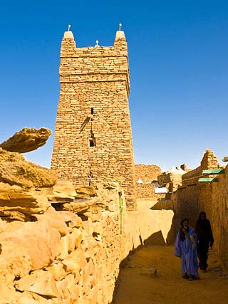 Ksar of the Medieval Trading Centre of Chinguetti, UNESCO World Heritage Site, Northern Mauritania