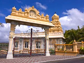 Hindu Temple in Northern Mauritius, Mauritius, Africa