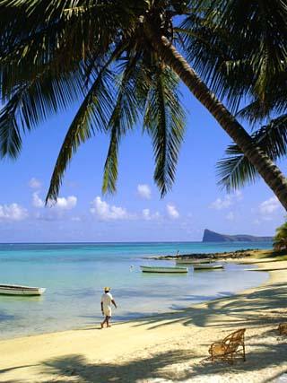Beach, Cap Malheureux, Mauritius
