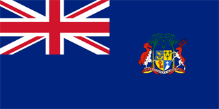 Dominion of Mauritius Colonial flag