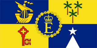 Queens Personal Mauritian Flag