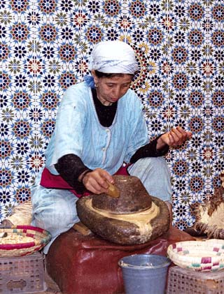 production of argan oil
