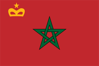 Civil Ensign of Morocco