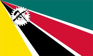 1975 Mozambique flag