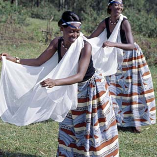 Intore Dancers Perform at Butare