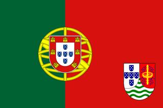 Flag of Portuguese Sao Tome and Principe