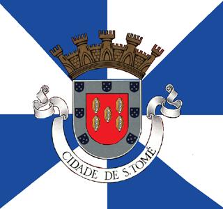 Sao Tome city flag