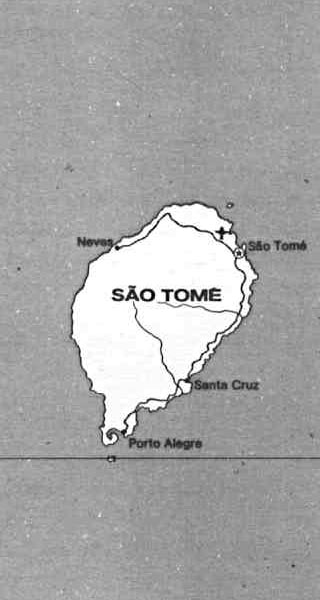 Sao Tome map