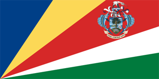 Seychelles presidential flag