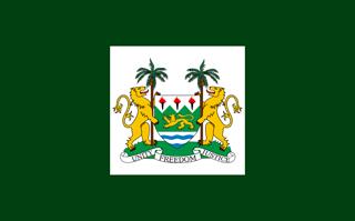 Sierra Leone presidential standard