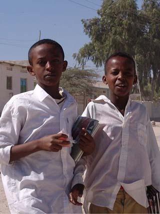 Hargeisa schoolboys