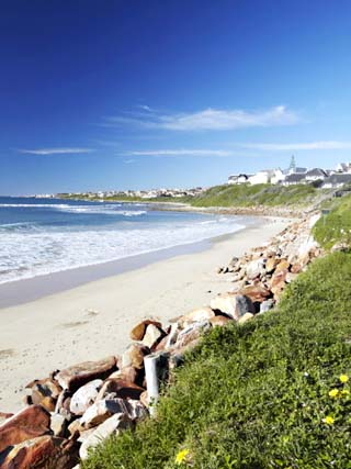 Beach at St. Francis Bay, Western Cape, South Africa, Africa
