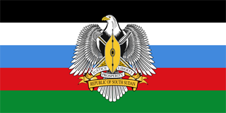 South Sudan Independence Day flag