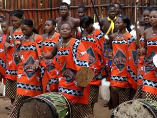 Mantenga Swazi Cultural Village, Swaziland, Africa