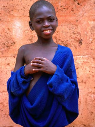 Portrait of Boy in Togoville, Togo
