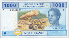 Central African franc