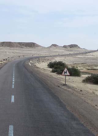 Saharan highway