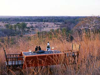 South Luangwa National Park, Bushcamps Company, Sundowners in the Bush, Zambia
