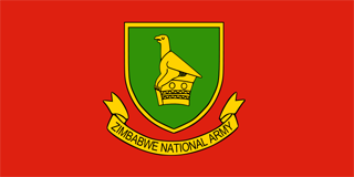 Zimbabwe National Army flag