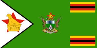 Zimbabwe presidential ensign