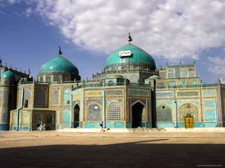 Shrine of Hazrat Ali, Who was Assassinated in 661, Mazar-I-Sharif, Afghanistan