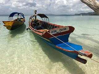 Andaman Island boats
