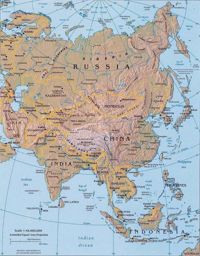 Landforms Of East Asia 58
