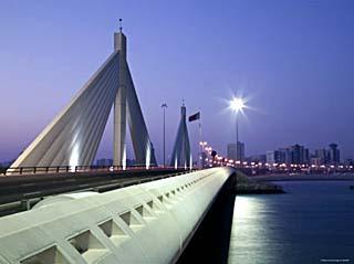 Sheikh Isa Causeway Bridge, Manama, Bahrain