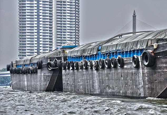 large barges bangkok