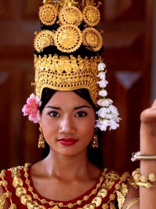 Portrait of Dancer, Siem Reap, Cambodia