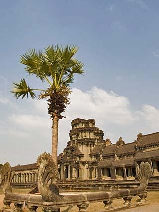 Angkor Wat Temple, Angkor, Siem Reap, Cambodia, Indochina, Southeast Asia