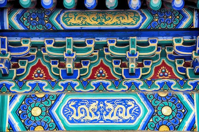blue tiles beijing