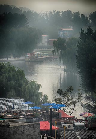 morning mist beijing
