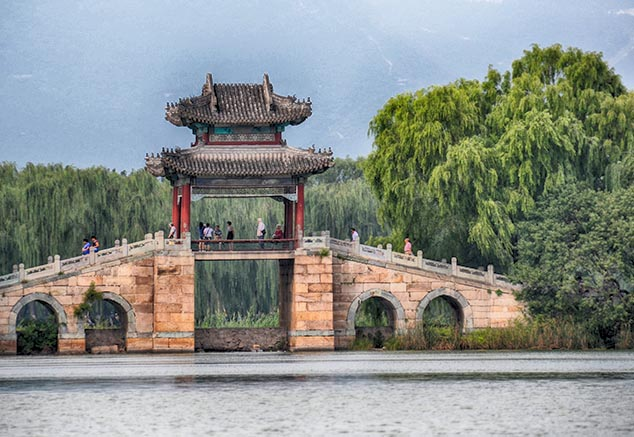 summer palace arch beijing