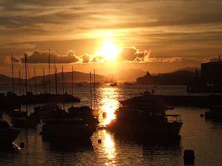 Causeway Bay sunset