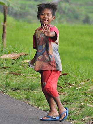 Indonesian boy